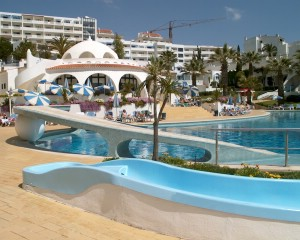 Oura View Beach Club in Albufeira, Portugal