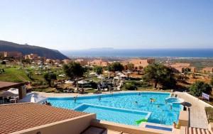 Village Heights in Crete, Greece